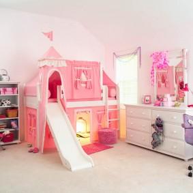 детская кровать домик фото дизайна