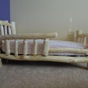 детская кровать из массива дерева фото вариантов
