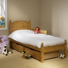 детская кровать из массива дерева виды идеи