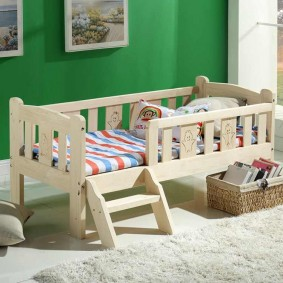 детская кровать из массива дерева идеи виды