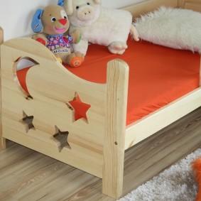 детская кровать из массива дерева фото идеи
