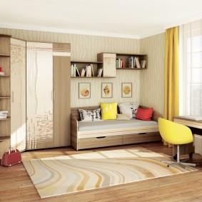 детская кровать из массива дерева фото дизайн