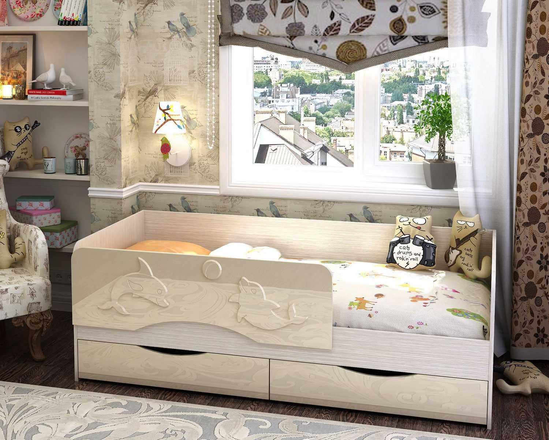 детская кровать мдф