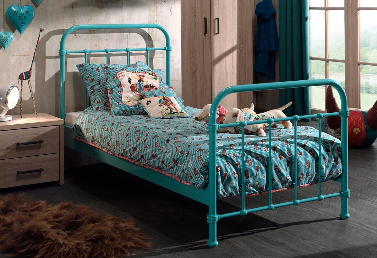детская кровать железо