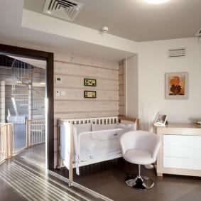 комната для новорожденного виды идеи