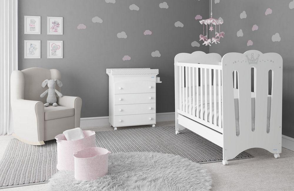 детская кроватка мдф