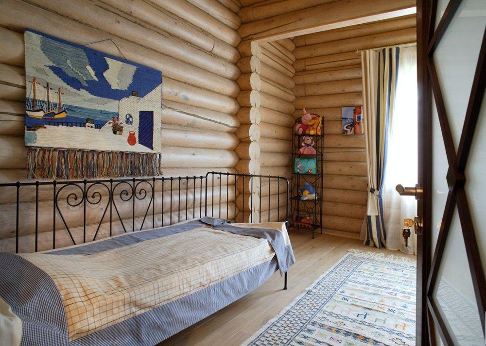 детская в деревянном доме идеи