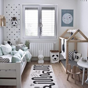детская в скандинавском стиле дизайн