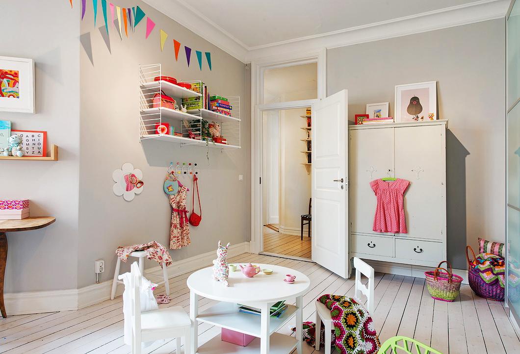 детская в скандинавском стиле идеи дизайна