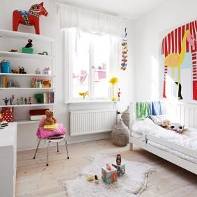 детская в скандинавском стиле идеи фото