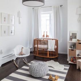 детская в скандинавском стиле интерьер