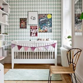 детская в скандинавском стиле интерьер фото
