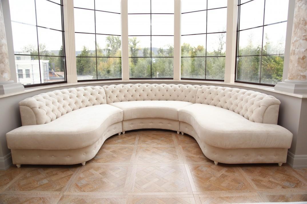 диван для эркера