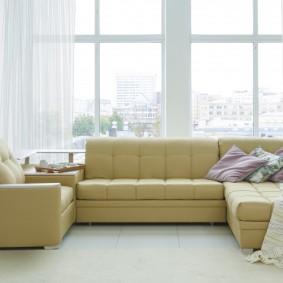 диван в гостиную раскладной фото идеи