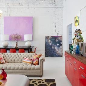 диван в классическом стиле декор идеи