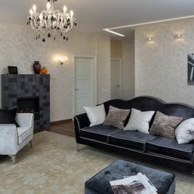 диван в классическом стиле декор