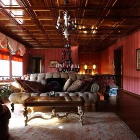 диван в классическом стиле фото оформления
