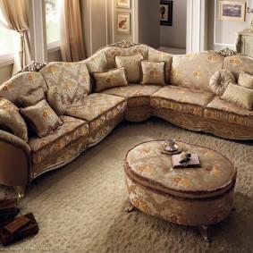 диван в классическом стиле идеи