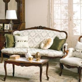 диван в классическом стиле идеи оформления