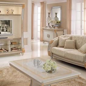 диван в классическом стиле варианты