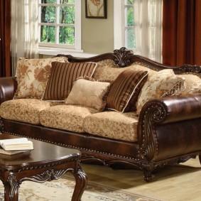 диван в классическом стиле варианты фото