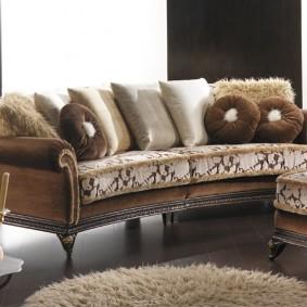 диван в классическом стиле фото варианты