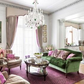 диван в классическом стиле фото вариантов
