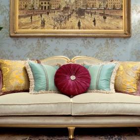 диван в классическом стиле идеи фото