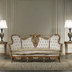 диван в классическом стиле фото видов