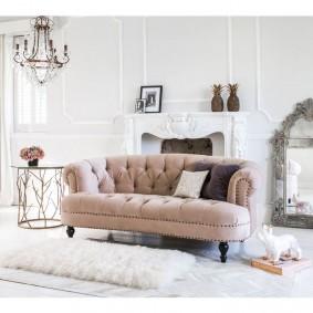 диван в классическом стиле виды идеи