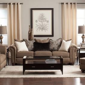 диван в классическом стиле виды дизайна