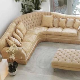 диван в классическом стиле виды оформления