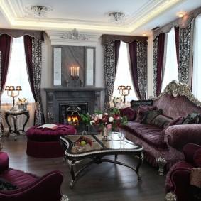 диван в классическом стиле фото дизайн