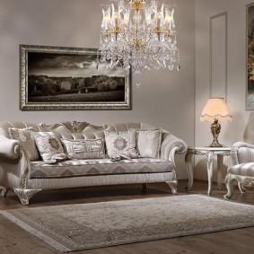 диван в классическом стиле дизайн фото