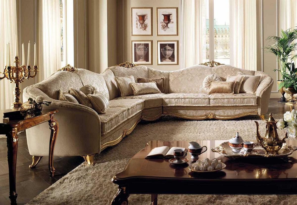 диван в классическом стиле фото