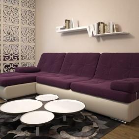 диван для гостиной виды дизайна
