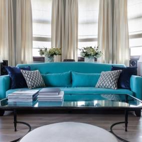 диван для гостиной виды декора