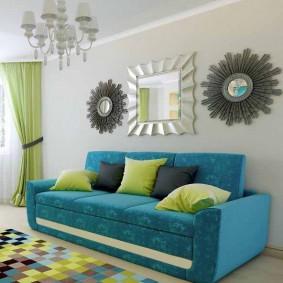 диван для гостиной идеи декора