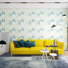диван для гостиной фото интерьера