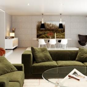 диван для гостиной идеи интерьер