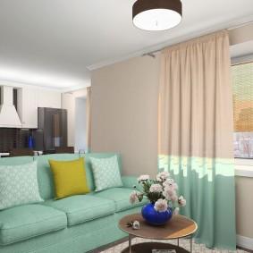 диван для гостиной оформление фото