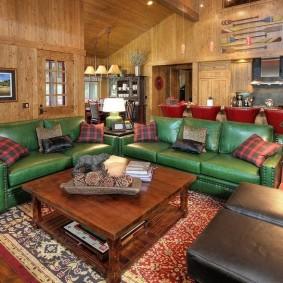 диван для гостиной фото оформления