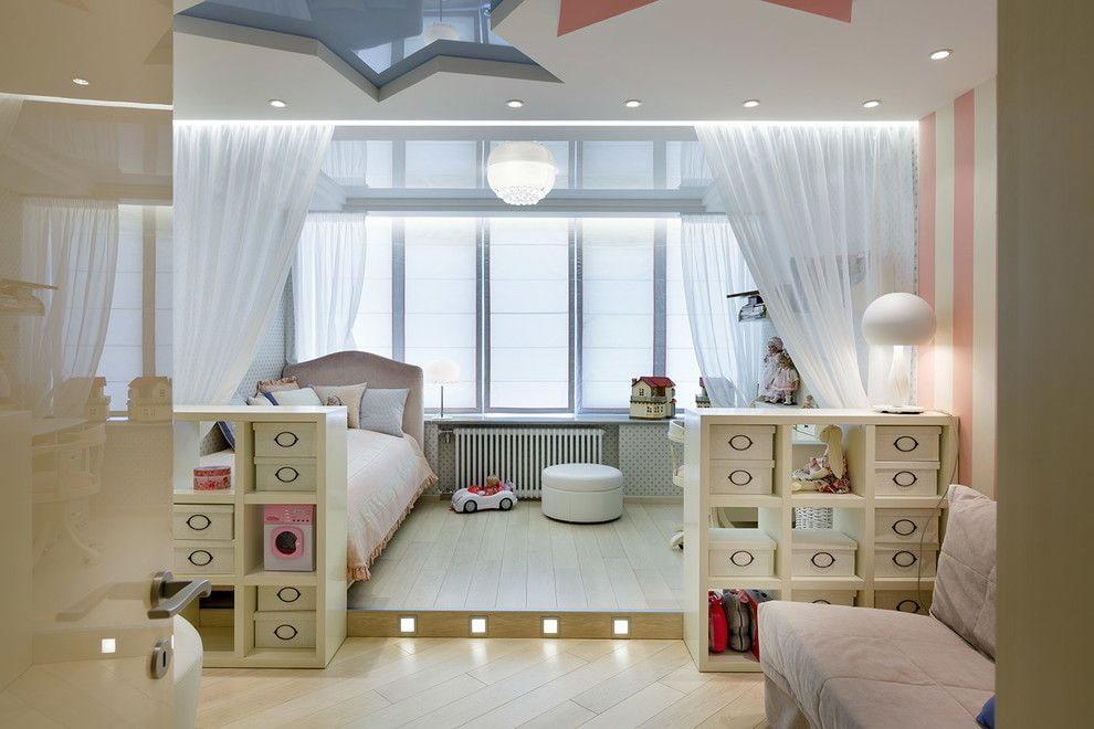дизайн балкона детская спальня
