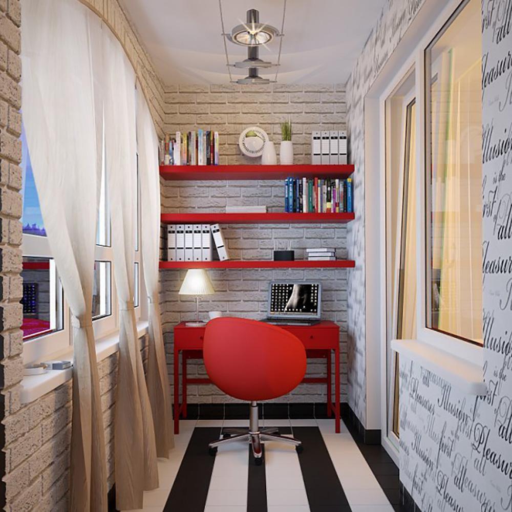 дизайн балкона детской кабинет