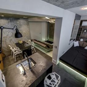 дизайн балкона спальня
