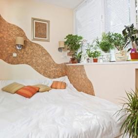 дизайн балкона спальня фото