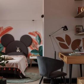 дизайн детской комнаты для школьника идеи