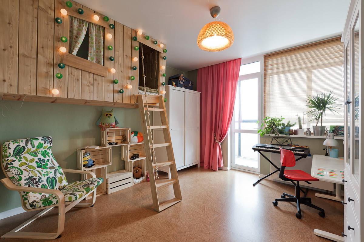 дизайн детской комнаты для школьника фото варианты
