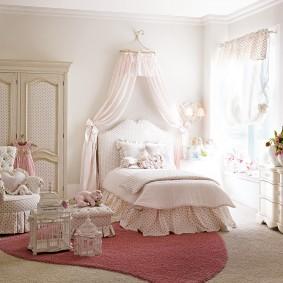 детская кровать декор фото