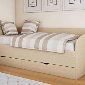 детская кровать фото декора